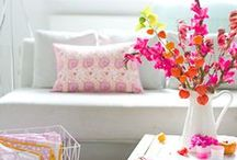 The Orchard: Spring Decor & Interiors: Shabby Chic Vintage / Spring is all about colour and bright blooms so we've put together some great inspiration on how to bring these to your home with a range of decor and interior ideas and Easter decorating.