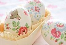 The Orchard: Easter Crafts: Shabby Chic Vintage / Easter craft ideas to make Easter fun for all the family