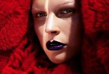 Fashion Editorial: Heat / Editorial photography from magazines and fashion campaigns featuring reds and hot colors.