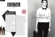 Media: Magazine Layouts, Editorial Design / Magazine layout and editorial design inspiration.
