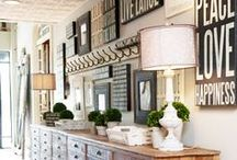 The Orchard: Make an Entrance: Shabby Chic Vintage / Entrance hall design ideas we love to make your home as welcoming as you possibly can. It is also this room that sets the bar of style for your whole home.
