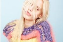 Fashion Editorial: Pastel / Editorial photography from magazines and fashion campaigns featuring pastels.