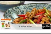 gardein | cooking video tutorials / gardein video tutorials  / by gardein