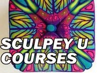 Sculpey U Courses / Explore your creativity! Join Sculpey University for exclusive tutorials and technique videos. With beginner - advanced videos we have something for all skill levels! / by Sculpey