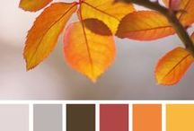 The Orchard: Autumn Colours: Shabby Chic Vintage / Rich, warm and cosy colours make Autumn the beauty that it is.  Bring the outside in and introduce one of these collection of colours into your home.