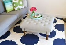 The Orchard: Rugs: Shabby Chic Vintage / Add the wow factor with a statement rug