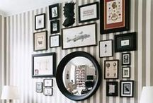 The Orchard: Gallery Style Walls: Shabby Chic Vintage