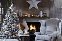The Orchard: Christmas Decor & Interiors: Shabby Chic Vintage / Christmas is a great time of year to make your house feel really different, whether it be by adding different colours or creating that cosy winter feeling. Whatever your preference we've got loads of ideas to inspire you.