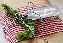 The Orchard: Christmas Wrapping Ideas: Shabby Chic Vintage / All the ideas you need to get your Christmas all wrapped up.