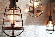 The Orchard: Industrial Lighting: Shabby Chic Vintage / Industrial Style is really in right now and what better way to bring that little bit of industrial  chic to your home than with the perfect lighting.