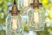 The Orchard: Ideas with Mason Jars: Shabby Chic Vintage
