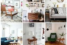 The Orchard: Mid-Century Modern Decor: Shabby Chic Vintage / A small step from a series of Mad Men Mid-Century Modern brings the 60's into the 21st Century