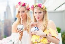 Flower Crown Party with Lauren Nelson / How to Throw a Flower Crown Party