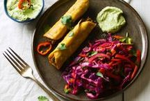 Mexican Meatless Menu / Mexican food favorites. What's on your Mexican menu today?