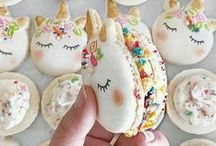 Food: Macarons / Design inspiration and recipes for macarons, everyone's favorite stylish cookie.