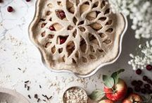 Food: Pies, Tarts / Recipes and design inspiration for pies and pie crusts.