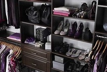 """Home: Closets to Covet... / """"I like my money right where I can see it - hanging in my closet.""""  ~ From the television show Sex and the City    / by Esperanza Wild"""