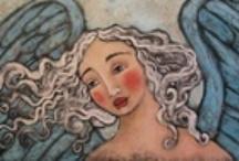 Art: Angels... / by Esperanza Wild