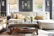 Living Room Inspiration / Elegant Living Room ideas, Living rooms, living room furniture, interior design, interior styling, homeware, house & home, the sofa and chair company / by The Sofa & Chair Company