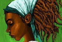Art: Hair Inspired 1... / by Esperanza Wild
