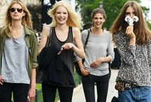 Stylish, simple, casual / Casual looks for the stylish-conscious.