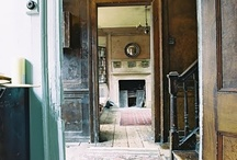 interiors: hallways & staircases / by Sally Osborne