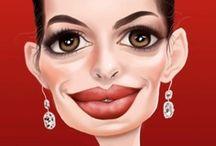 Art: Celebrities... / by Esperanza Wild