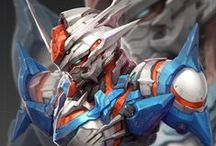 CG mecha robots / comment a pin to be invited / by KoZ Tar