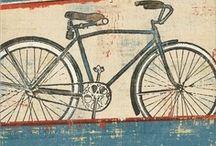 Art: Bicycles... / by Esperanza Wild
