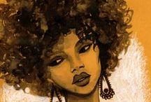 Art: Hair Inspired 2... / by Esperanza Wild