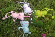 Crochet - Toys and Kids Items / by Rosie .