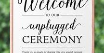 Welcome Wedding Templates / MyCrayons Design's collection of easy-to-use templates for welcome signs, wedding itineraries, and welcome bag notes. // wedding welcome signs, unplugged ceremony signs, unplugged wedding, welcome bags wedding, wedding ideas on a budget, diy wedding sign, printable wedding templates