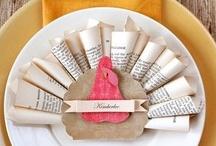 holiday- thanksgiving / by Amandita Designs