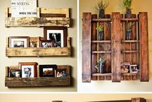 Pallet-ays / Ideas for all those busted up old dilapidated (or new) pallets to bring life back to a simple product.