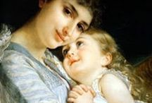 Mother's Love / A mother's love for her child is like nothing else in the world. It knows no law, no pity, it dares all things and crushes down remorselessly all that stands in its path. - Agatha Christie