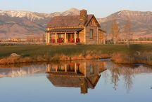 Cabin Fever / Cabin and log homes and decor for rustic living
