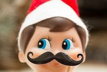 Elf on the Shelf Ideas / Santa's favorite scout elves are on the move! We've picked some of our best ideas for you to try at home.