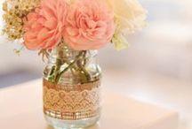 Mason Jar Ideas / Everything beautiful with Mason Jars