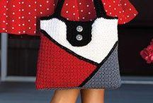 crochet accessories / little details in crochet, crochet fashion