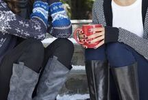 Women's Style - Bundle Up / Baby, it's cold outside! Find the coolest cold-weather style, from jeans and sweaters, to mittens, hats and scarves. / by Target