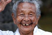 Wrinkles Only Go Where the Smiles Have Been / Wisdom comes with age.... So does beauty