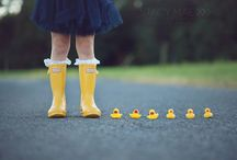 Waddle waddle Quack quack / Yellow Hunter boots. Will be mine too
