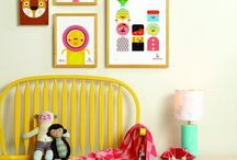 Little but fierce living spaces / Colourful and eclectic children's rooms for creative family homes