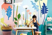 Creative family homes / Interior ideas for practical and fun family life. Everything from Ikea hacks to colours.