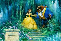 Tale as Old as Time / Most Favorite Disney Movie Ever and of course; who doesn't love a library like that?!?