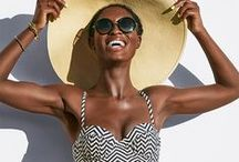 Swim Trends / From bikinis to one-pieces, here are the best swim styles of the season, plus, some fresh ideas on how to accessorize with jewelry, beach bags, sunglasses and cover-ups. / by Target