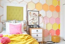 Creative kid's bedrooms and playrooms / Colourful, fun and stylish bedrooms, playrooms and spaces for little people - from toy storage to wall displays and colourful bedding and wallpaper