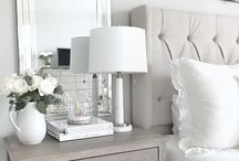 In a white room.... / Crisp & Clean Bedrooms