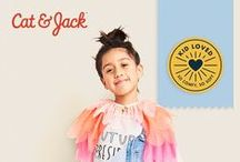 Say Hello to Cat & Jack / Introducing Cat & Jack, kids' clothing with an imagination of its own. Only at Target. Co-created with real kids. Full collection in stores and online.