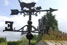 Weathervanes / These beautiful black cast iron weathervane, are supplied with fitting instructions and fixings. They will add a real country feel to your home or out building. As they are primarily made to be beautiful, you will not have the same level of accuracy or responsiveness you would achieve with the likes of a wind measurement device such as a wind sock